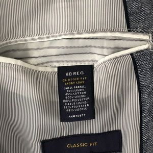 Stafford Suits & Blazers - Stanford Men's sport coat 40R